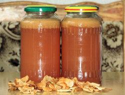 Sok jabłkowy z sokowirówki