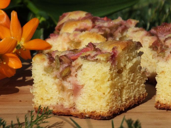 Ciasto Jogurtowe Z Rabarbarem Przepisy Kulinarne Ciasta I Slodkosci