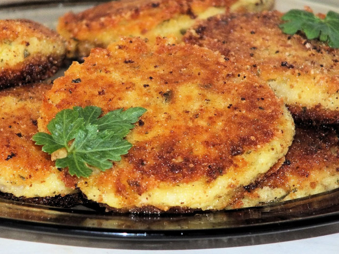 Ziemniaczane kotleciki z białym serem - zdjęcie 2
