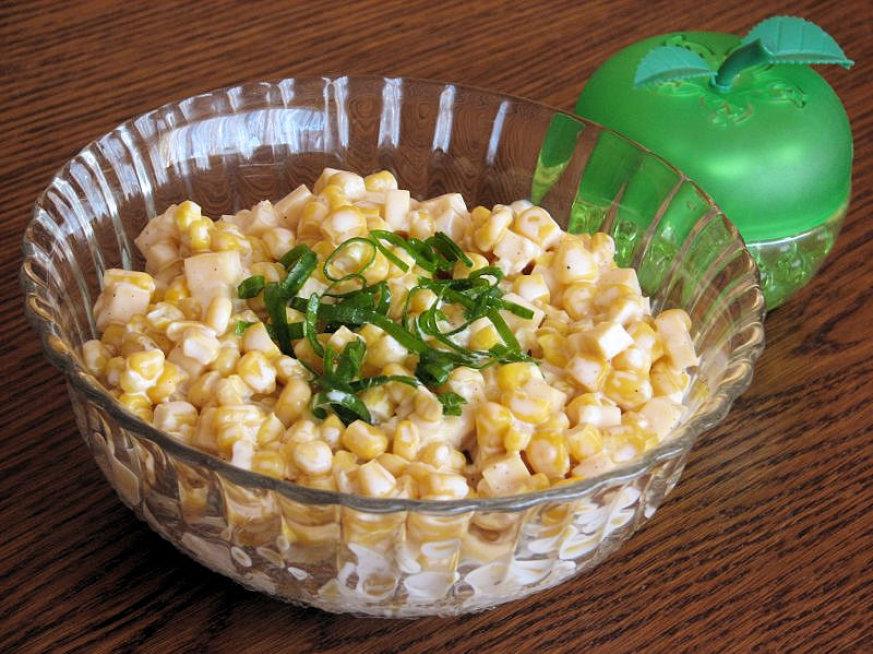Салаты с кукурузой консервированной рецепты с простые и