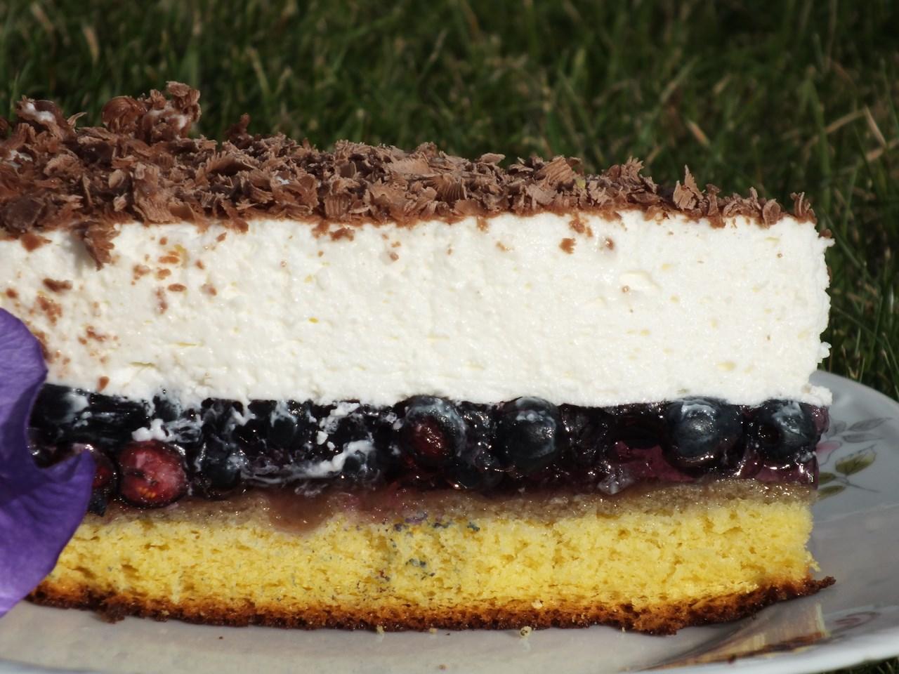 Ciasto Jagodowe Z Bita Smietana Przepisy Kulinarne Ciasta I